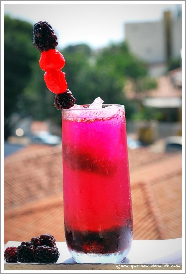 mais refresco: soda italiana de amora