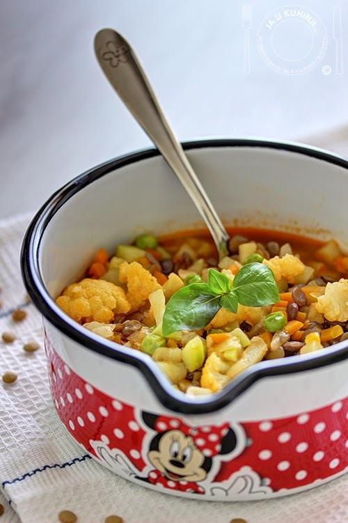 Hrana za najmlađe: Varivo od sočiva i povrća