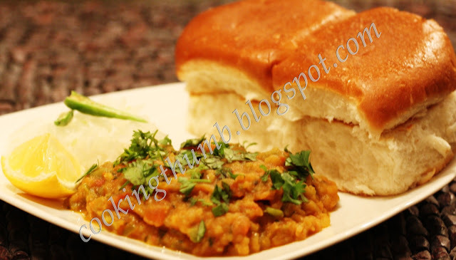 Authentic Bombay Pav Bhaji