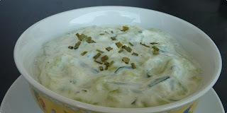 Salata od krastavaca i jogurta