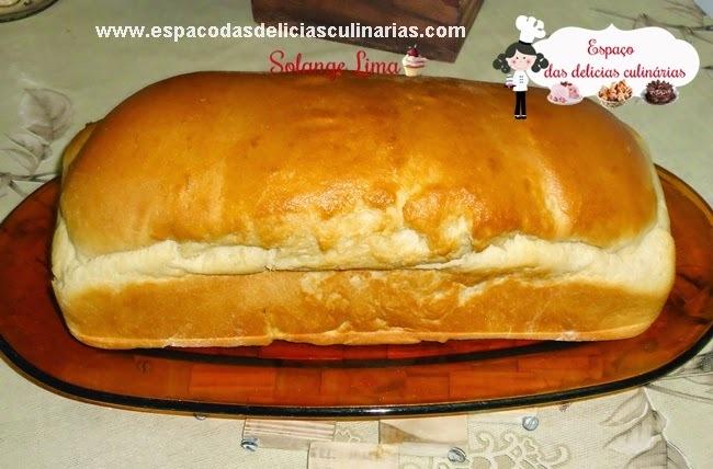 Pão de forma de aipim/mandioca, feito na MFP