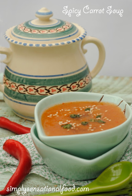 Spicy Carrot Soup ~5-2 Diet