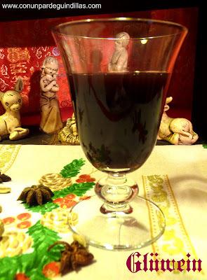 Glüwein, vino dulce especiado