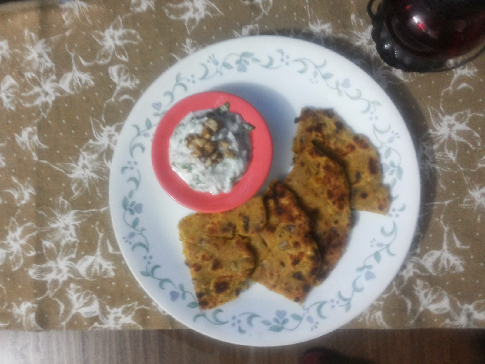 Walnut Chutney in Yogurt (Akhrot Chutney)-A Taste of Kashmir