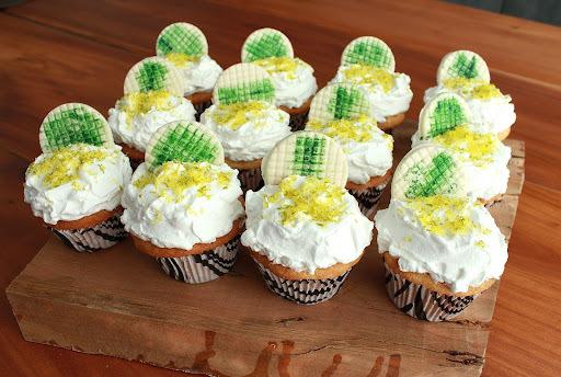 """Cupcake """"Torta de Limão"""" e Programas de Culinária"""