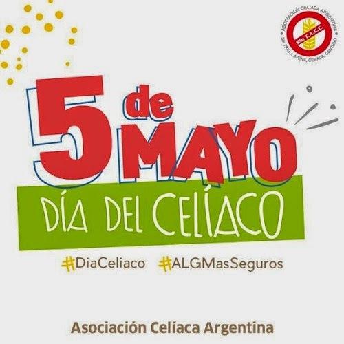 5 de mayo - Día Internacional del Celíaco