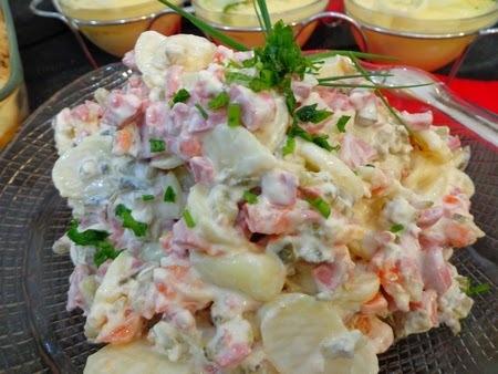 conserva de batata com cenoura e salsicha