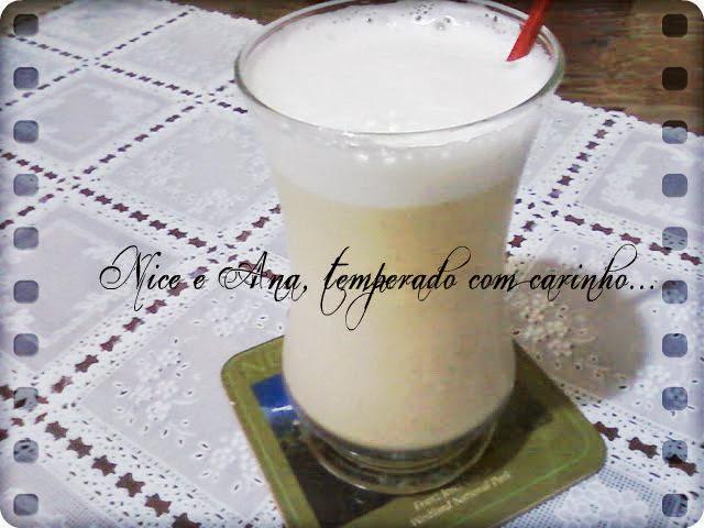Suco de Abacaxi com Laranja e Hortelã