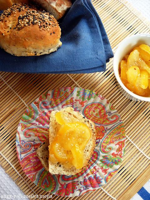 [memòries d'una cuinera] mermelada de limón al romero