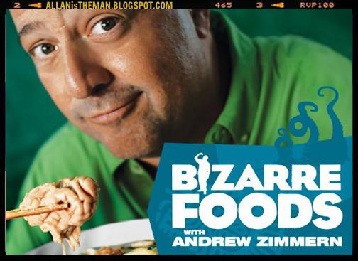 Noticia: Andrew Zimmern com seu Bizarre Foods no Rio de Janeiro