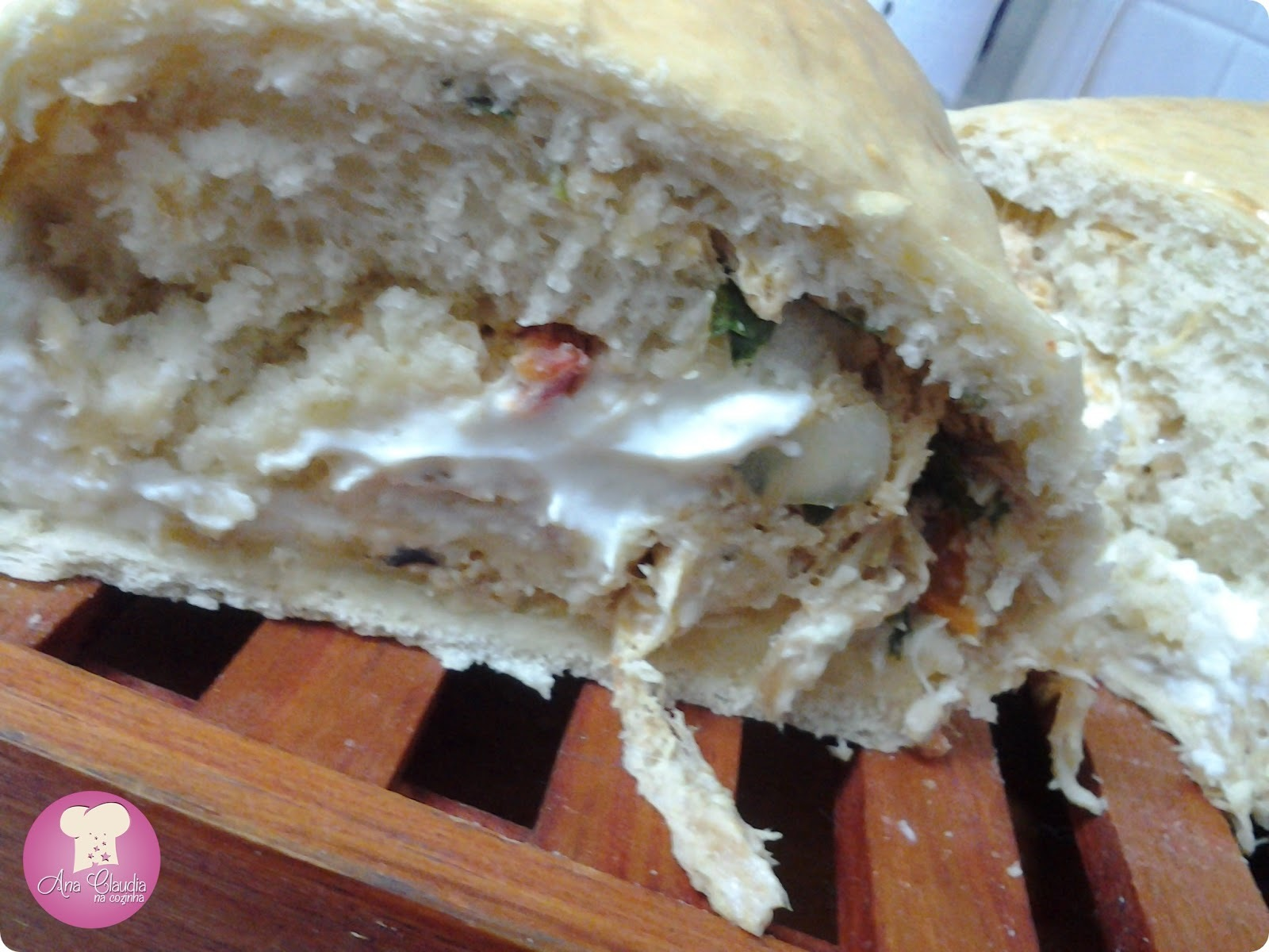 de pão de cebola caseiro com fermento biologico seco instantaneo