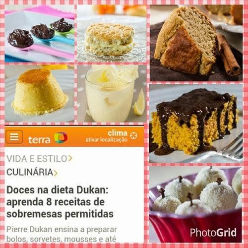 Minhas Receitas no Site Terra Culinária!!!
