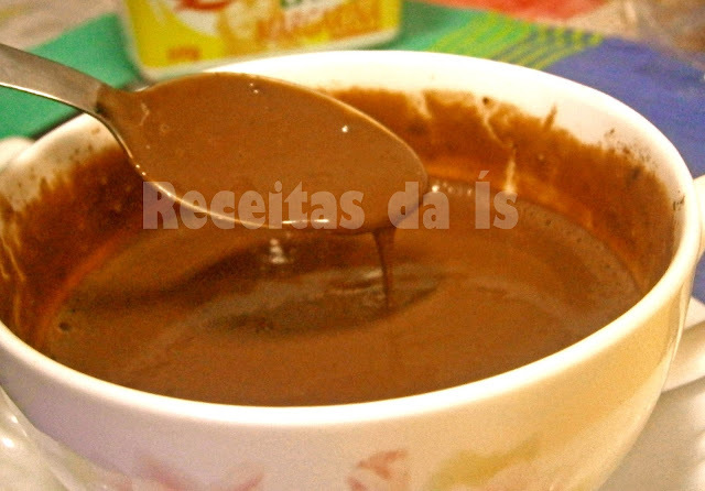 CHOCOLATE QUENTE NO MICRO....