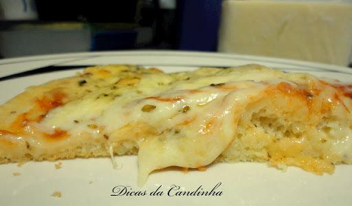 Pizza de liquidificar