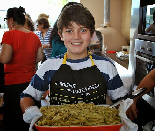 Mais uma do meu chef preferido - Penne Al Pesto