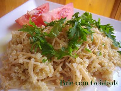 Quinoa com Aletria