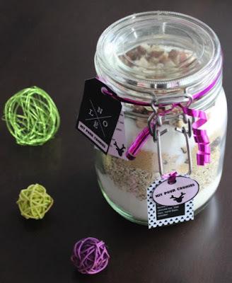 Kit SOS Cookies aux chocolat et noisettes - Cadeau gourmand - Etiquettes à imprimer
