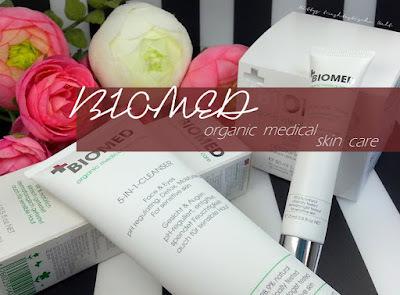 näher angesehen ... Biomed organic medical skin care + Gewinnspiel