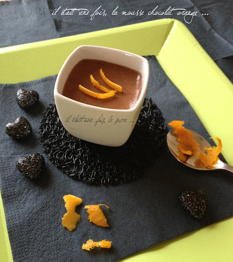 Mousse Chocolat Orange ...