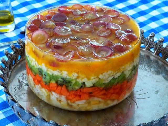 Para agradar um outro coração - Salada de Frutas
