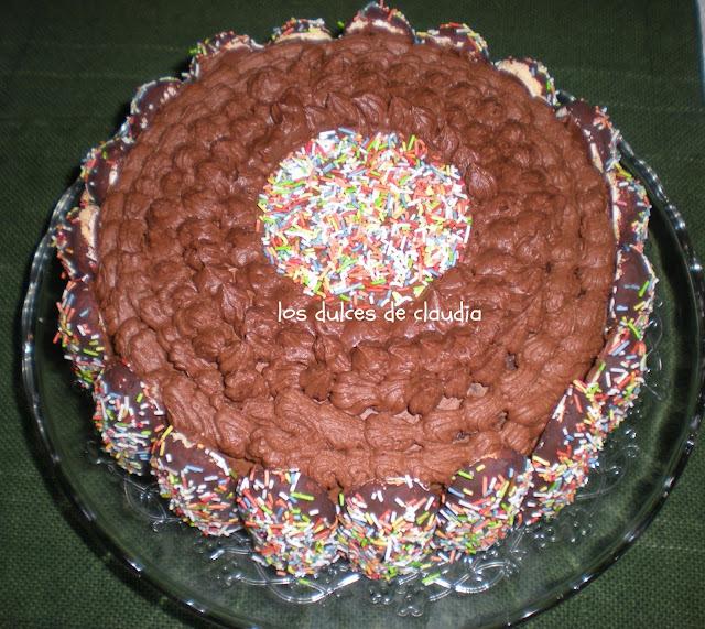 Torta de chocolate para Gonzalo