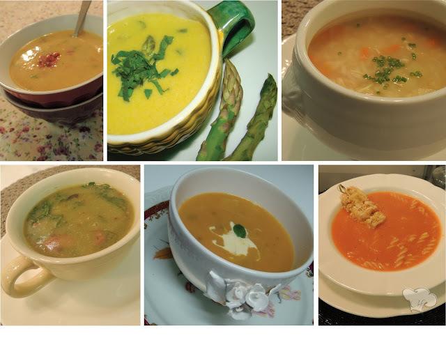 Be-a-bá da Cozinha... Dicas para fazer Sopas deliciosas