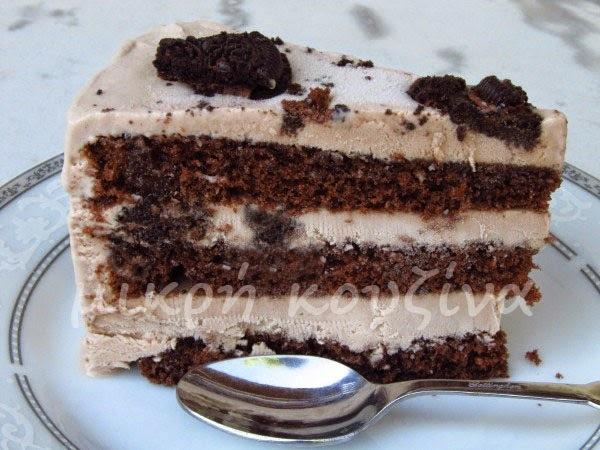 Εύκολη τούρτα παγωτό