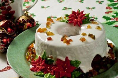 Bolo de Natal - receitas natalinas