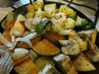 Verduras y Hortalizas Asadas (Guarnición)