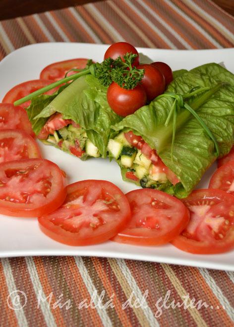 Burritos o Tacos RAW con Verduras (Receta SCD, GFCFSF, Vegana, RAW)