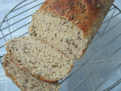 Pão de Linhaça e Semente de Girassol