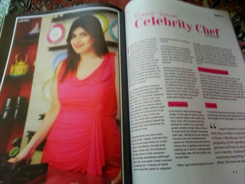 Interview with Celebrity Chef Rakhee Vaswani