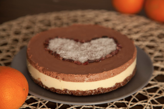 cake naranja cacao