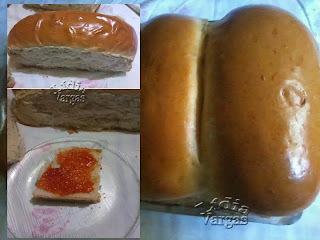 pão sovado caseiro