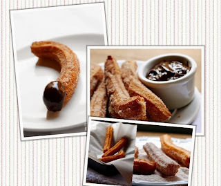 Churros ao Chocolate, da Nigella