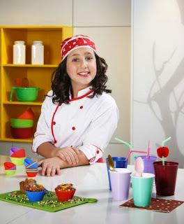 Entrevista com a Mini-Chef Rebeca Chamma