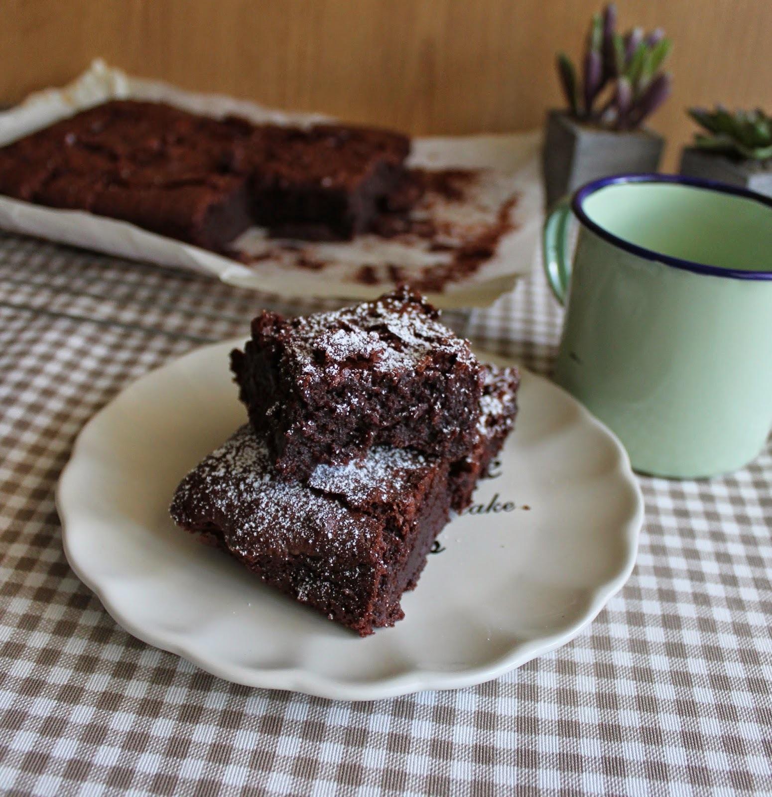 Brownies de cerveza negra {Degustabox}