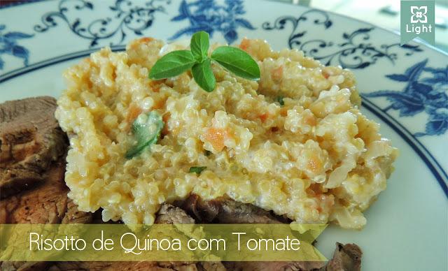 Risotto de Quinoa com Tomate