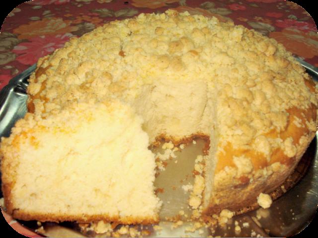 Torta alemana de mi abuela (stroisel kuelten)