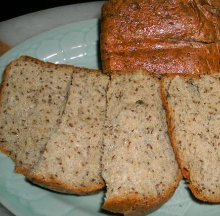 pao de farinha de linhaça sem carboidrato