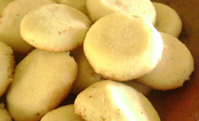 Biscoitinhos Amanteigados de Limão