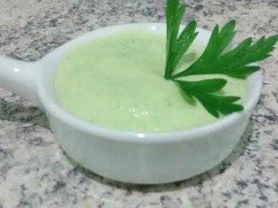 Molho Verde para Sanduíches
