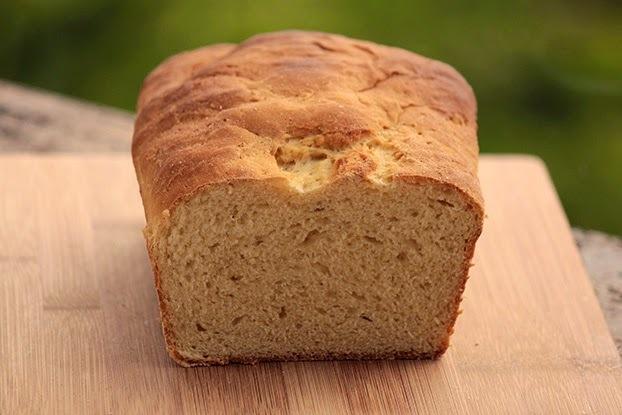 Pão de fubá e mel