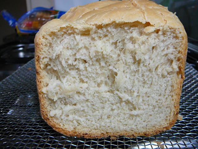 Pan hecho con suero de leche