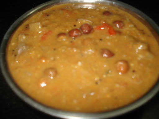 Potato Brinjal Curry