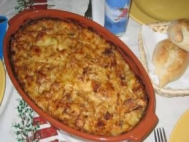 Bacalhau com Natas Saboroso