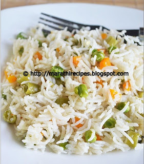 Vegetable Pulav Recipe | Vegetable Rice Recipe