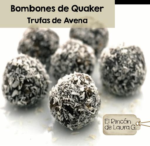 Trufas de Chocolate y Avena • Bombones de Quaker