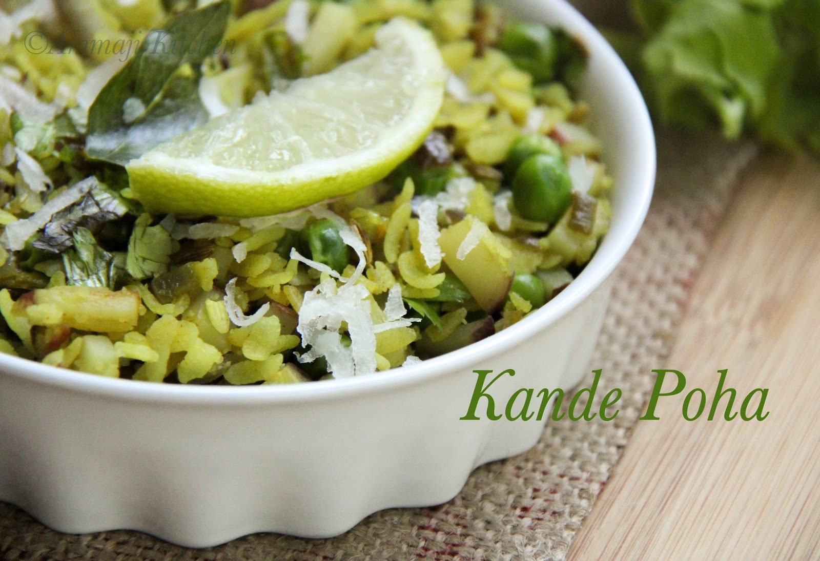 Kande Poha {Version 2}