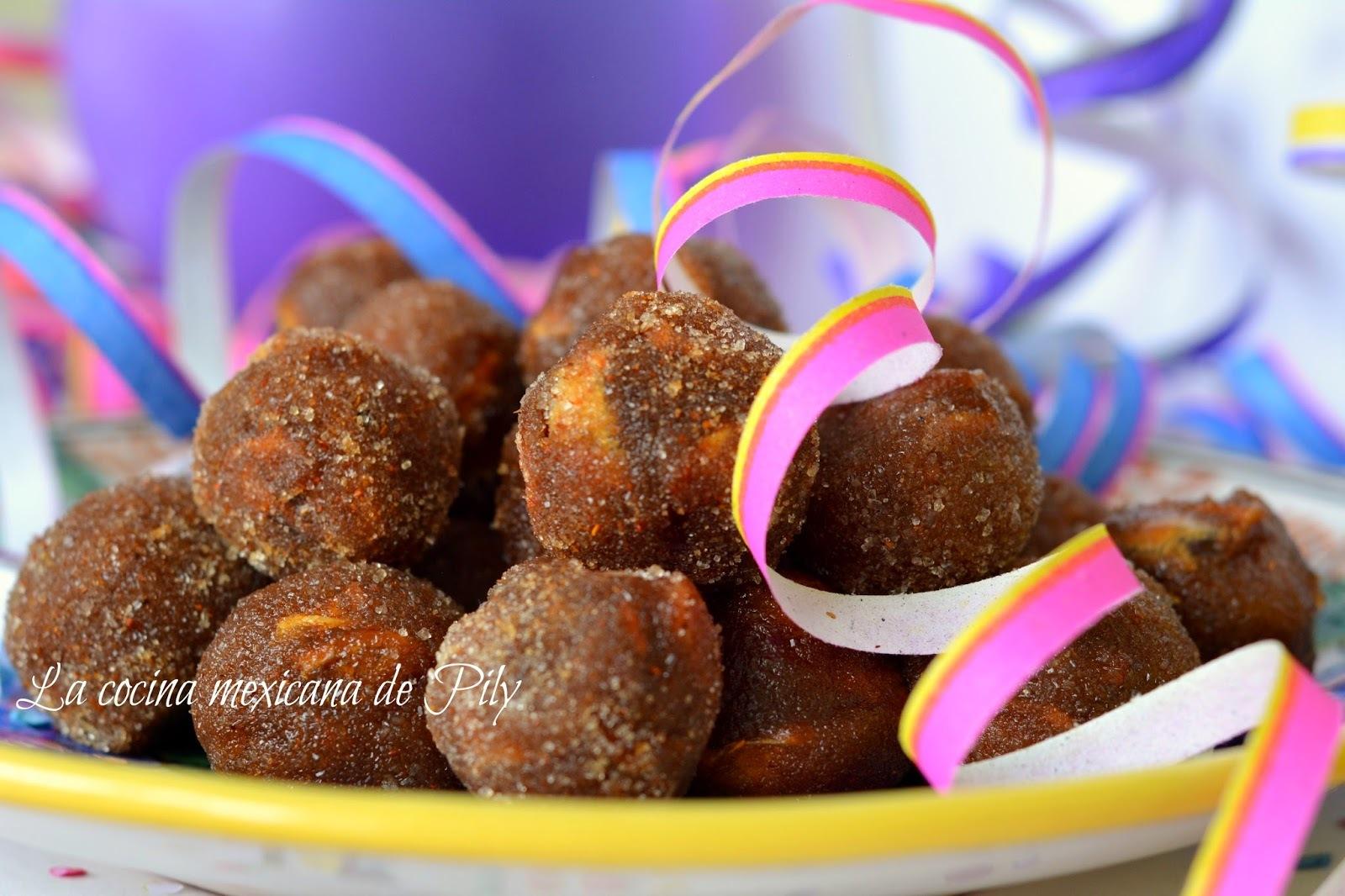 Bolitas de dulce de tamarindo y ¡Feliz día del Niño!